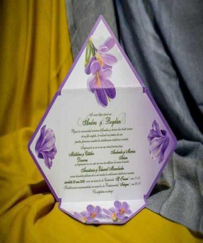 Invitatie de nunta cod 220 din Catalogul Best Cards