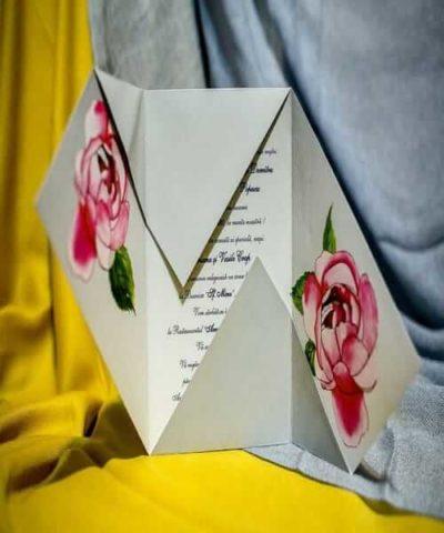 Invitatie de nunta cod 222 din Catalogul Best Cards