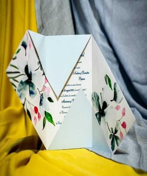 Invitatie de nunta cod 223 din Catalogul Best Cards
