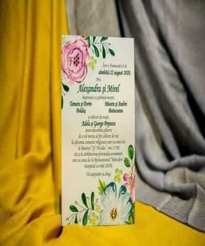 Invitatie de nunta cod 225 din Catalogul Best Cards