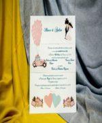 Invitatie de nunta cod 228 din Catalogul Best Cards