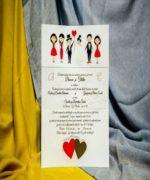 Invitatie de nunta cod 229 din Catalogul Best Cards