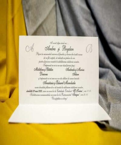 Invitatie de nunta cod 230 din Catalogul Best Cards