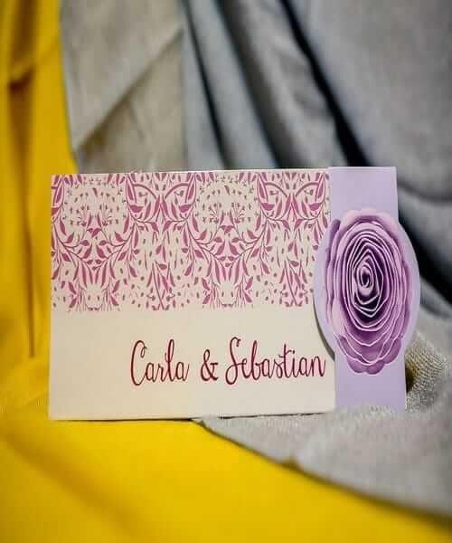 Invitatie de nunta cod 234 din Catalogul Best Cards
