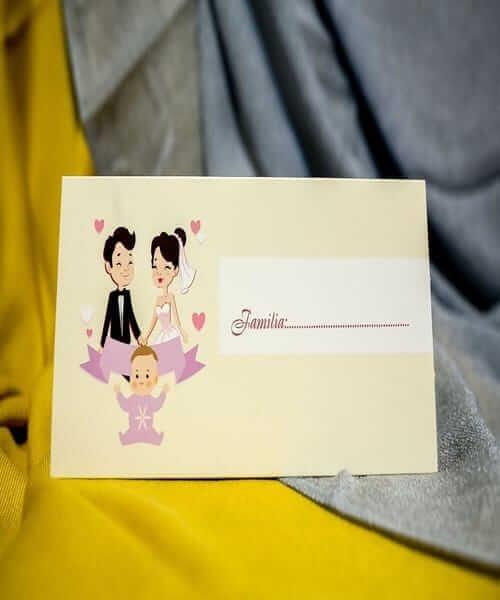 Invitatie de nunta cod 237 din Catalogul Best Cards