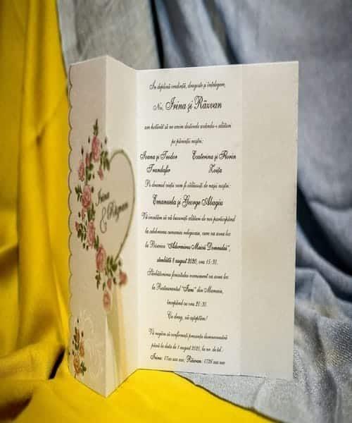Invitatie de nunta cod 3282 din Catalogul Best Cards