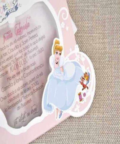 Invitatie de botez cod 15713 din Catalog Disney