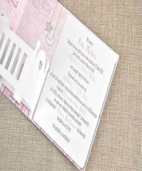 Invitatie de botez cod 15715 din Catalog Disney