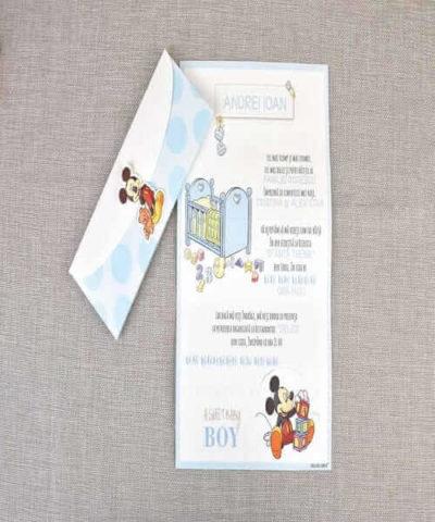 Invitatie de botez cod 15719 din Catalog Disney