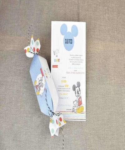 Invitatie de botez cod 15721 din Catalog Disney
