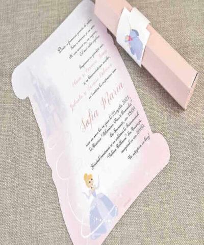 Invitatie de botez cod 15727 din Catalog Disney
