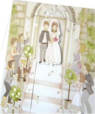 Invitatie nunta 31301 Catalog Clara