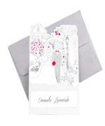 Invitatie nunta 39238 Catalog Clara