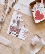 Invitatie nunta cod 39808 Catalogul Emma