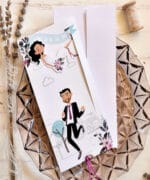 Invitatie nunta cod 39816 Catalogul Emma